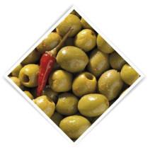 Olijven pikant ontpit 3.5kg 5l notekraker