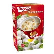 Royco Minute Soup champignon+korstjes 20st Crunchy