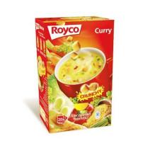 Royco minute soup kerrie + korstjes 20st crunchy