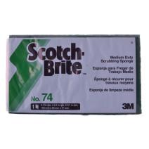 Schuurspons Scotch Brite 3M Nº74 20st 155x93mm
