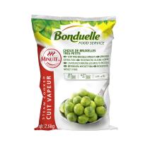 Spruitjes Extra Fijn 2.5kg Bonduelle Minute Foodservice Diepvries