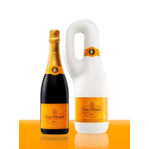 Champagne Veuve Clicquot Naturally Clicquot giftpack 75cl Brut