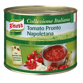 Knorr saus Napoletana 2L blik Collezione Italiana