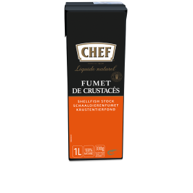 Chef Natural Fond Schaaldierenfumet 1L Nestlé Professional