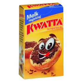 Kwatta chocoladehagelslag melk 120x20gr portieverpakking