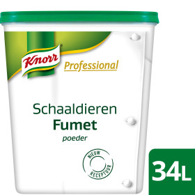 Knorr Professionel Carte Blanche schaaldierenfumet poeder 850gr