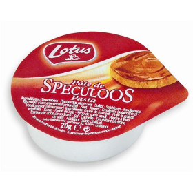 Lotus speculoospasta porties 120x20gr alu cups Lotus Bakeries