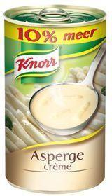 Knorr aspergecremesoep 0.5L blik