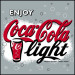 Coca cola light can 24x33cl
