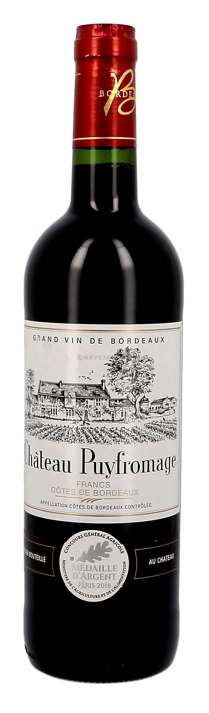 Chateau Puyfromage 75cl Bordeaux Cotes de Francs