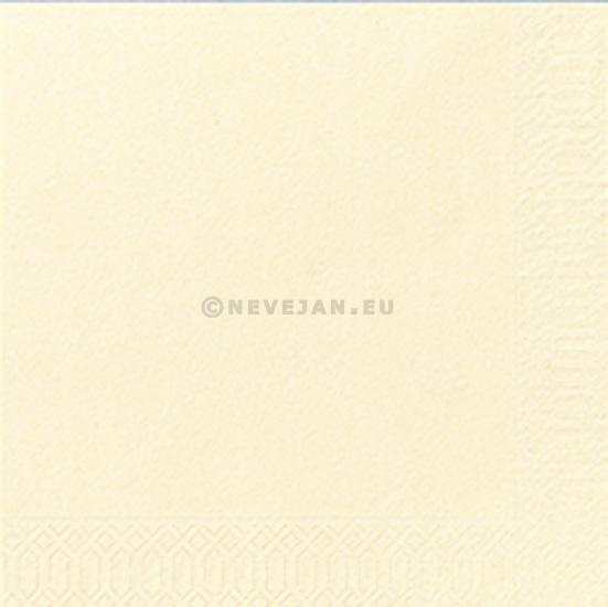 Serviettes en papier champagne 2-couches 33x33cm 125pc Duni