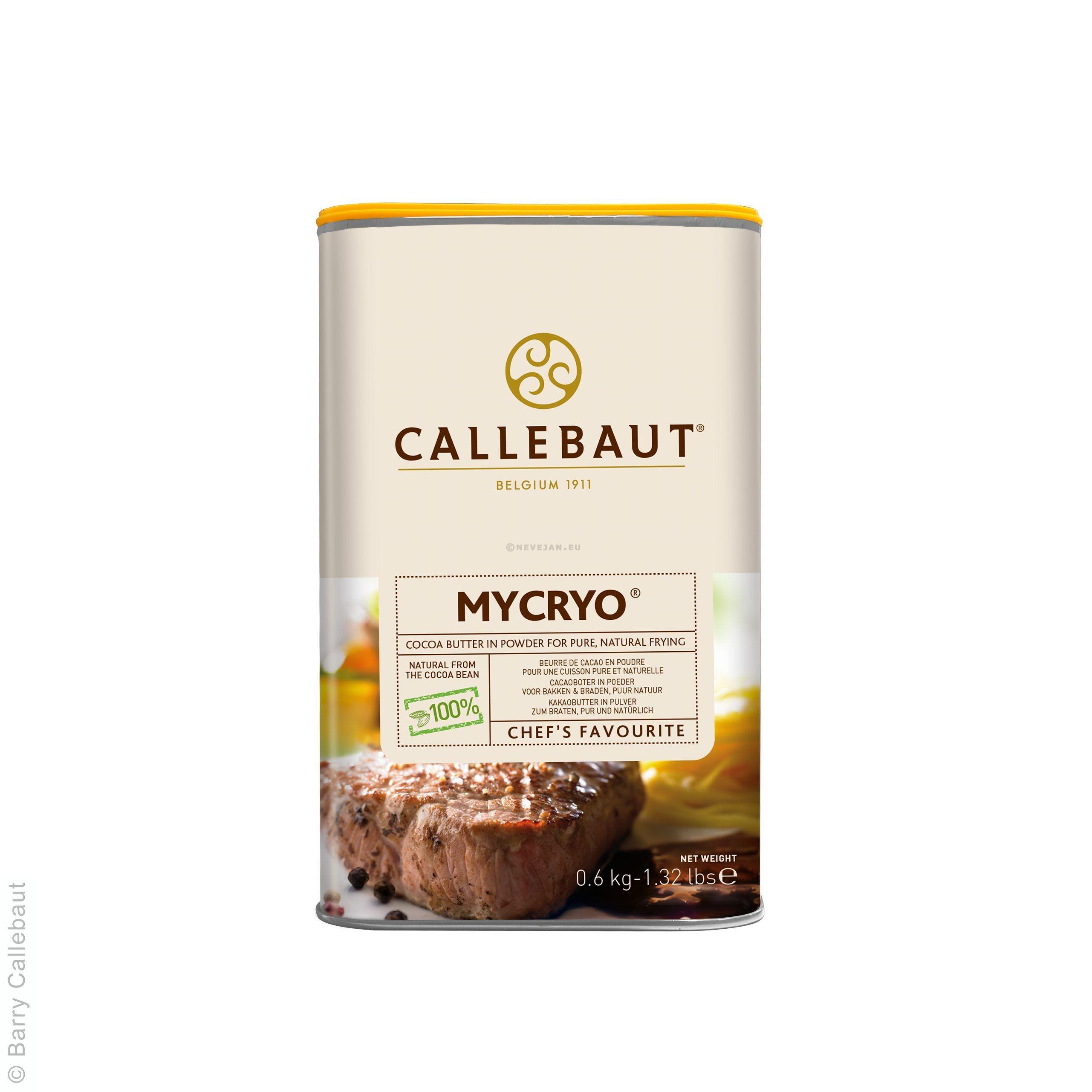 Barry Callebaut Mycryo 0.6kg beurre de cacao en poudre