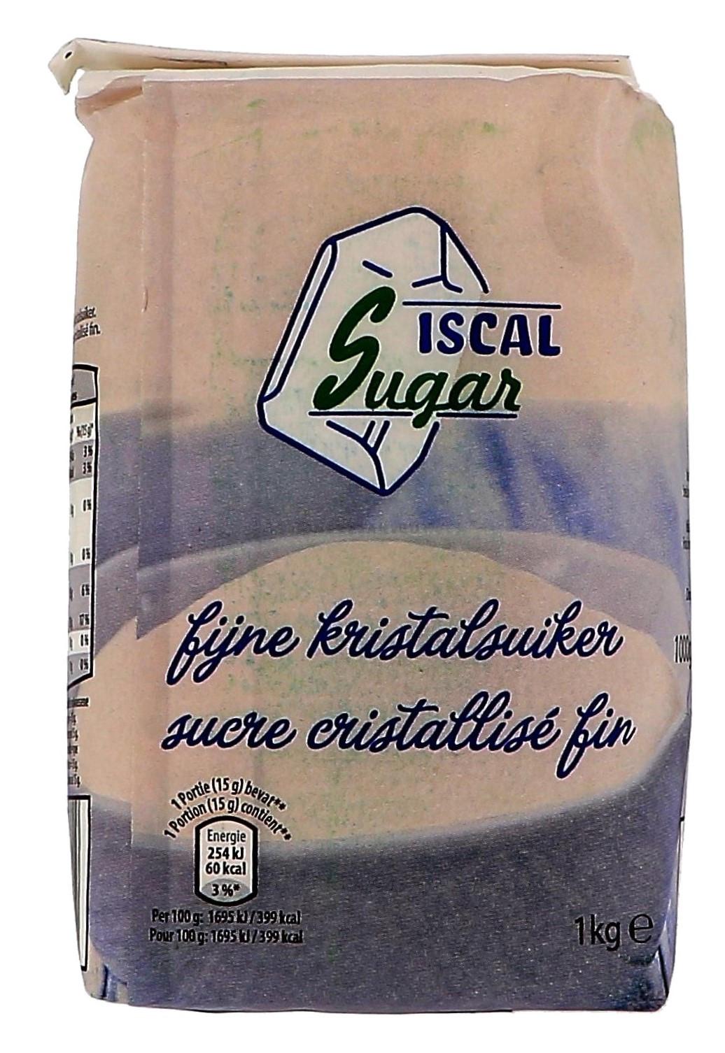 Sucre Cristallise fin 1kg Iscal Sugar (Suiker)