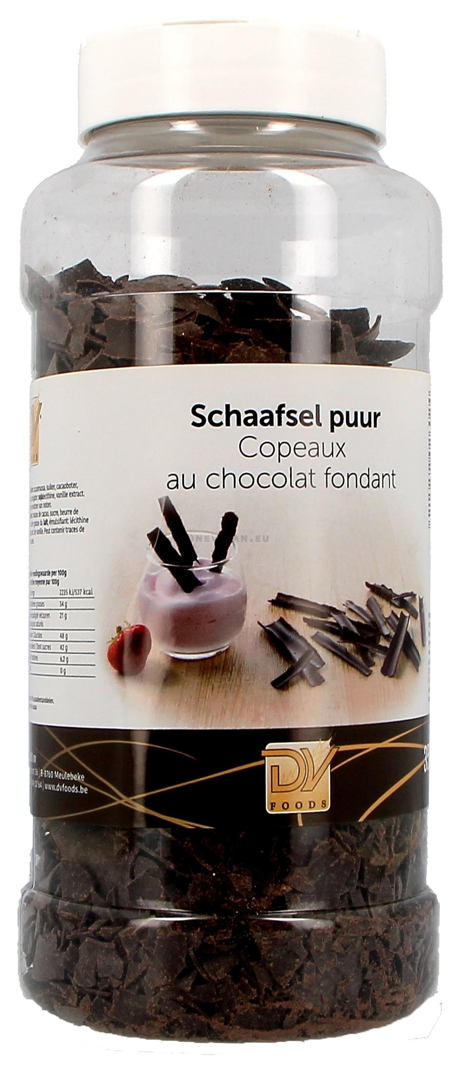 Copeaux de chocolat fondant 350gr DV Foods (Chocolade)