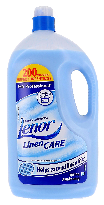 Lenor Ultra fraicheur d'avril 5L adoucissant P&G Professional (Wasproducten)