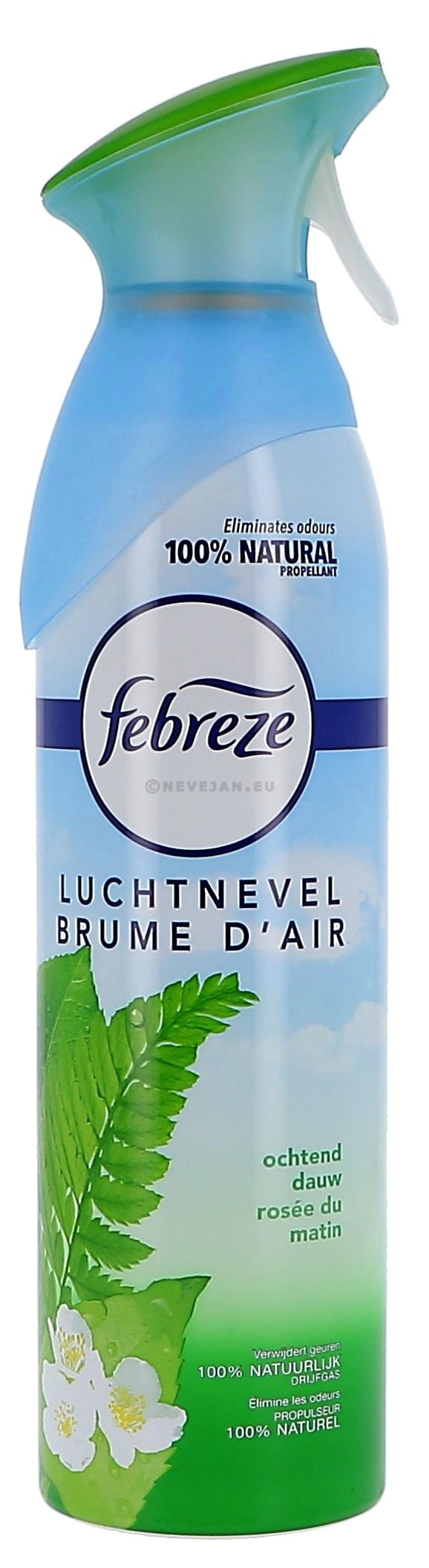 Febreze luchtnevel ochtend dauw 300ml Procter & Gamble (Reinigings-&kuisproducten)