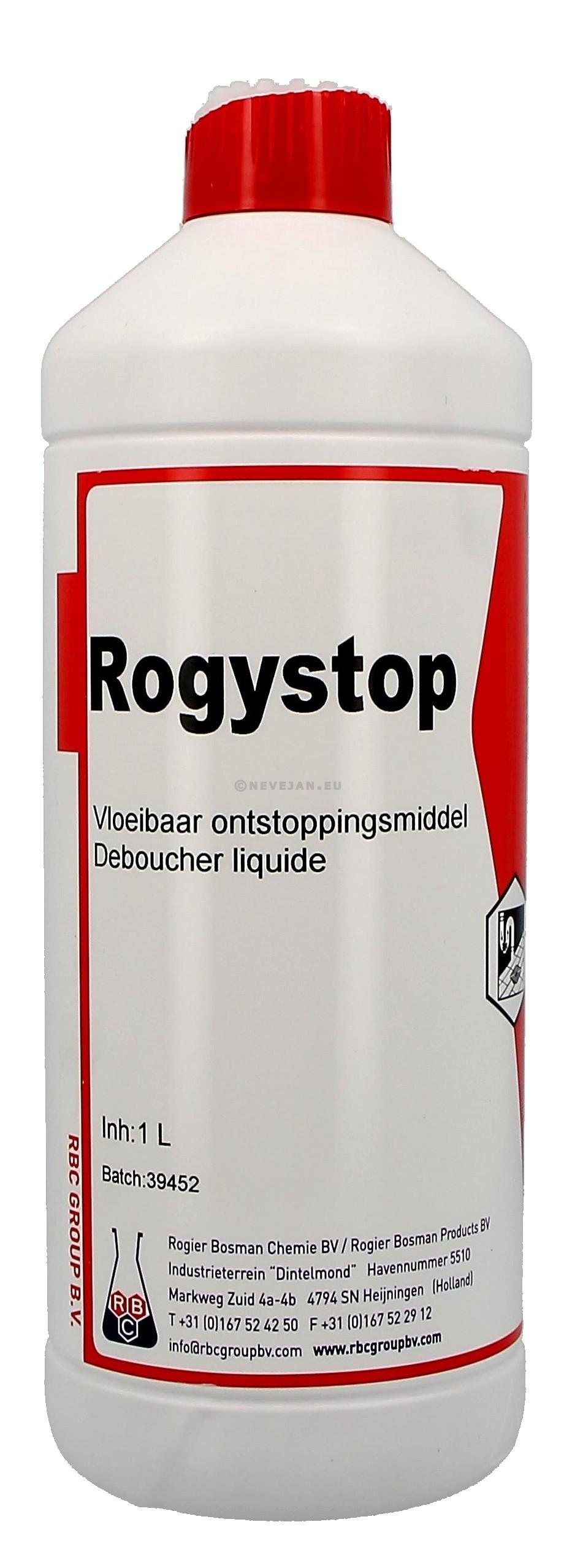 Rogystop Super 1L déboucheur liquide industrielle (Reinigings-&kuisproducten)