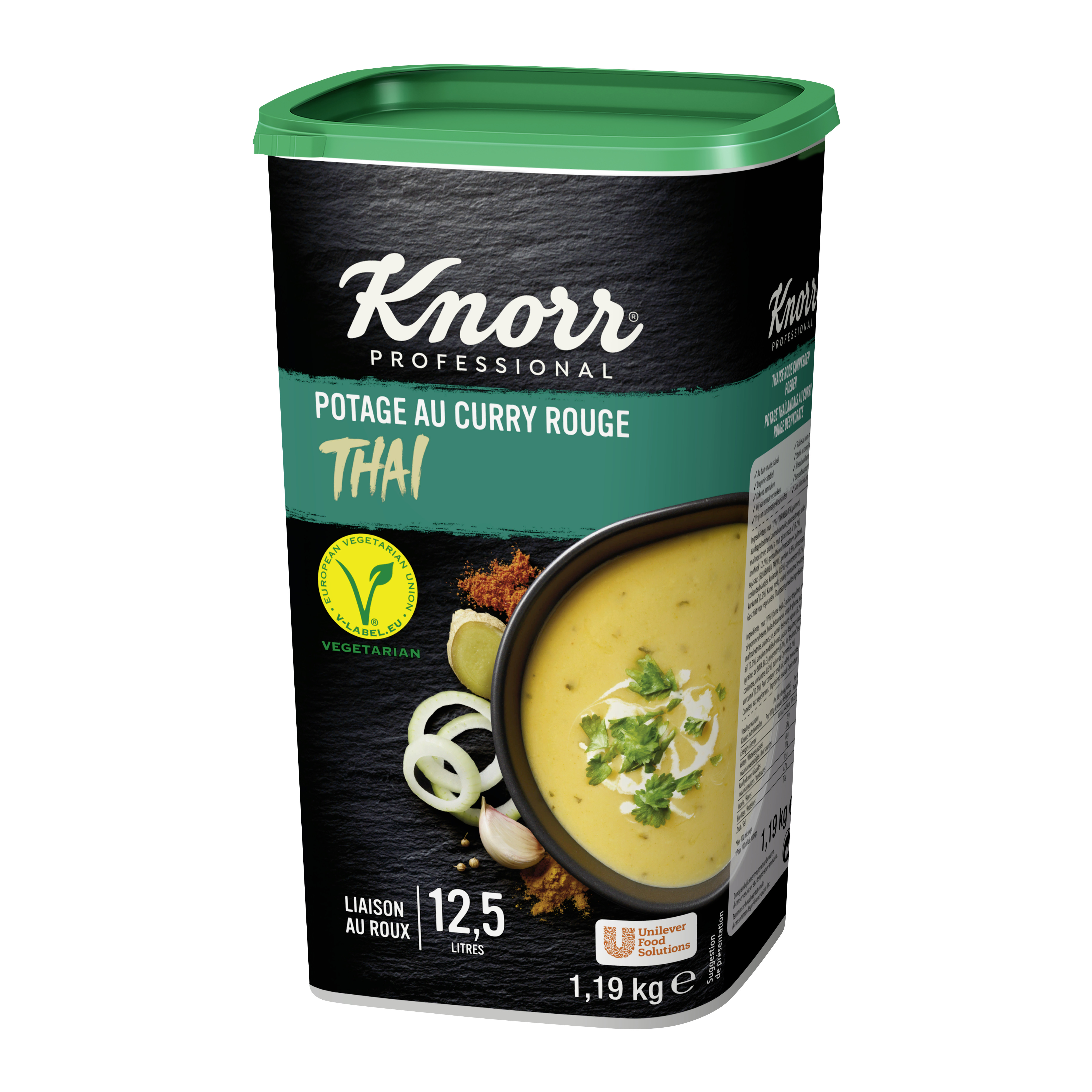Knorr potage Thai Curry Rouge 1.19Kg Professional