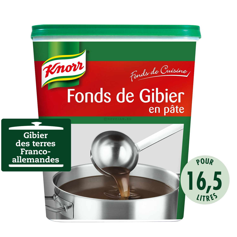 Knorr fond de gibier en pate 1kg Fonds de Cuisine