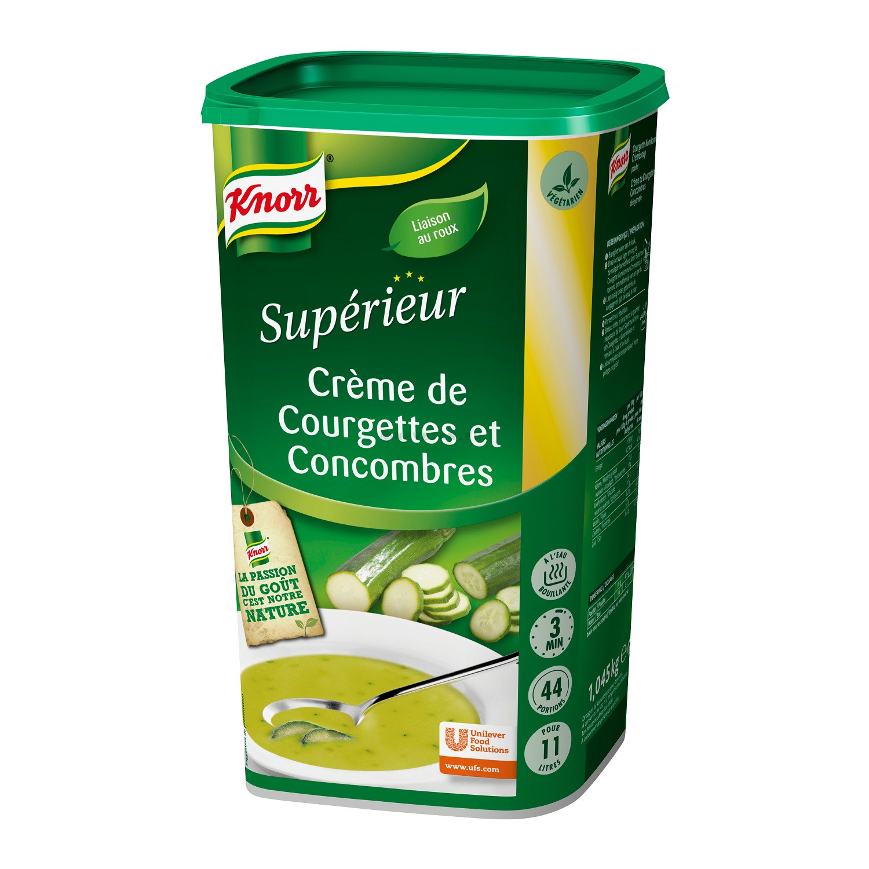 Knorr potage Superieur soupe creme de courgettes et concombres 1.045kg