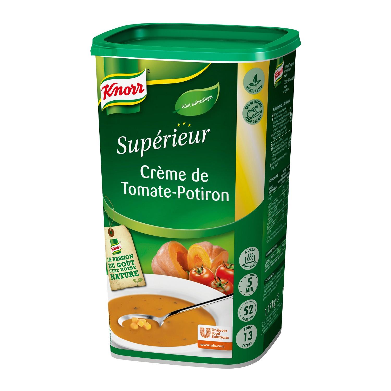 Knorr potage Superieur soupe creme tomates-potiron 1.26kg