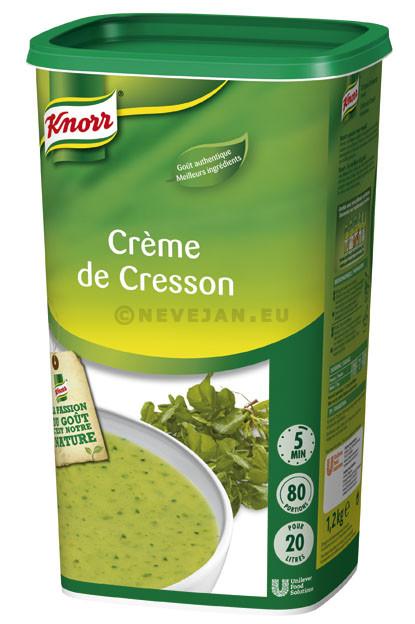 Knorr potage creme de cresson 1.20kg Soupe de tous les Jours
