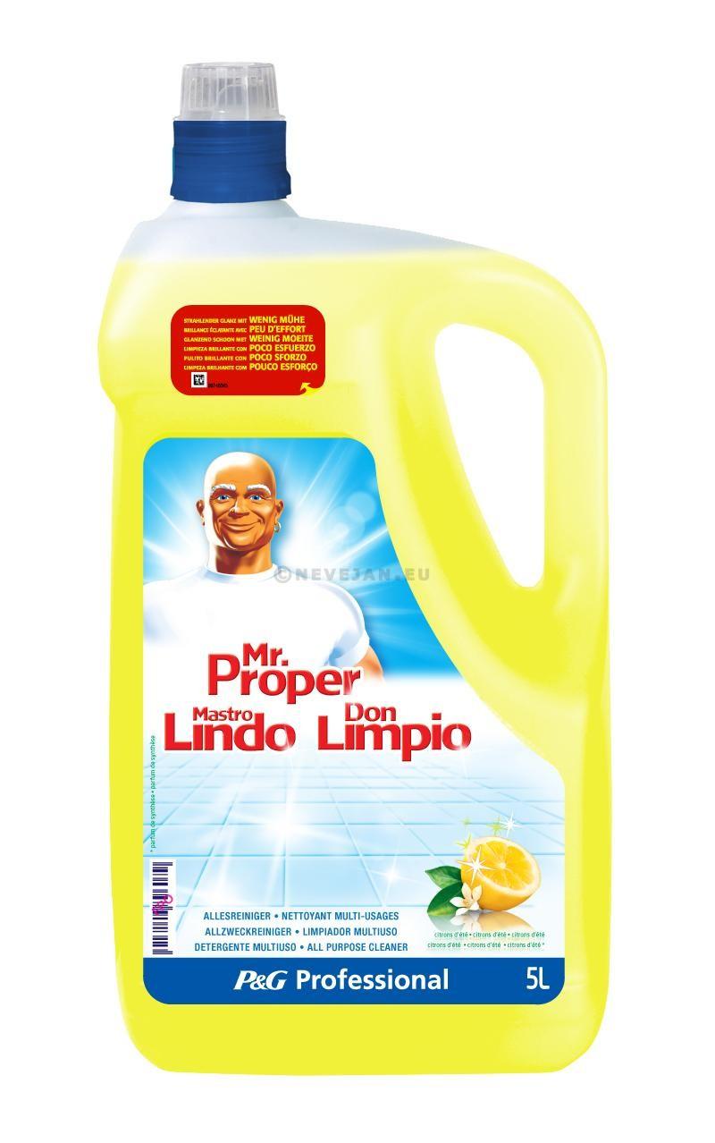 Mr.Propre Citron 5L détergent multi-usages Professional