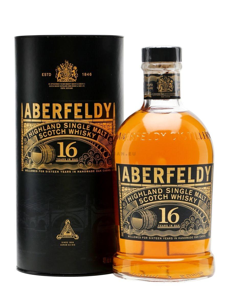 Aberfeldy 16 Ans d'age 70cl 40% Highlands Single Malt Whisky Ecosse