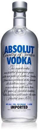 Vodka Absolut Blue 1L 40%