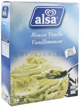Alsa vanille mousse 710gr