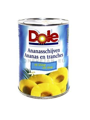Ananas 10 tranches 0.75L Dole
