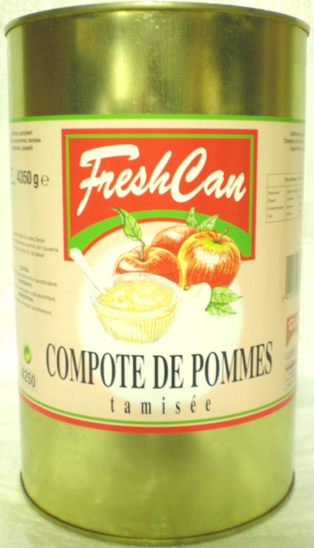 Compote de pommes tamisée 5L Fresh Can