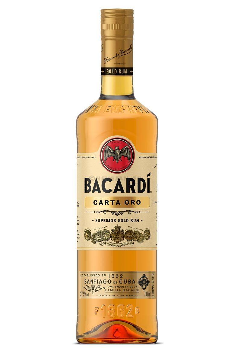 Rhum Bacardi Carta Oro 70cl 40%
