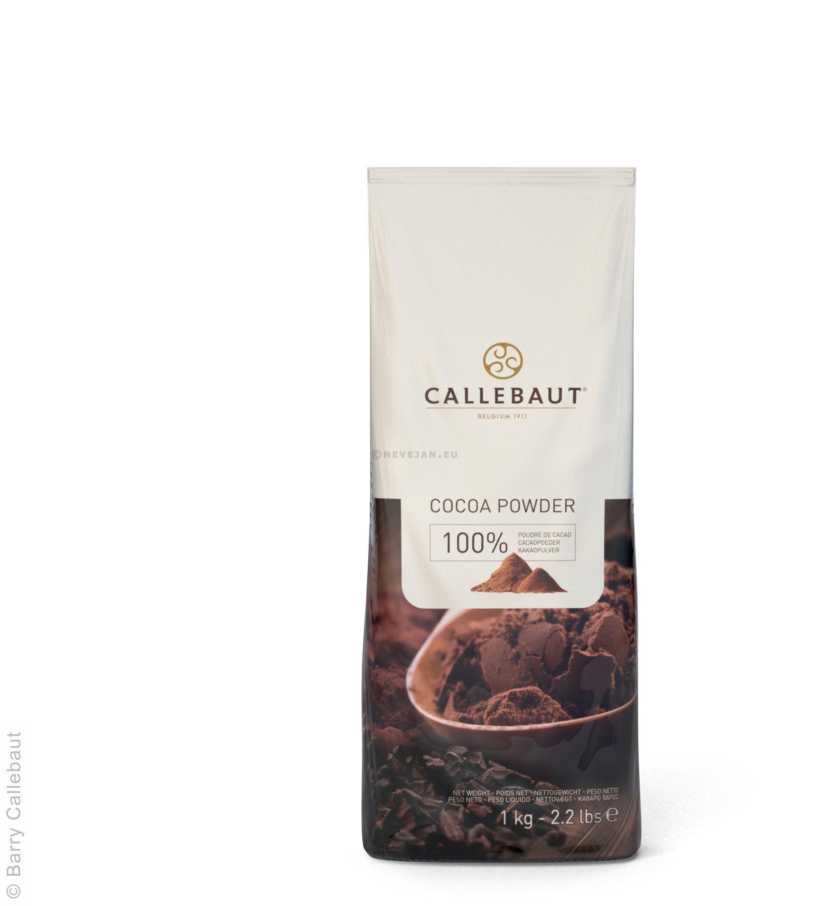 Cacao en poudre 100% 1kg Barry Callebaut