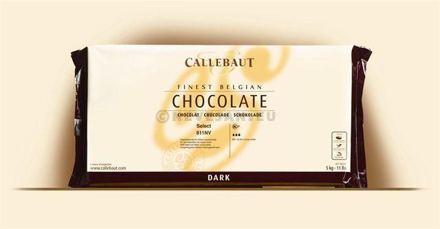 Callebaut chocolat couverture C811 fondant 5kg bloc