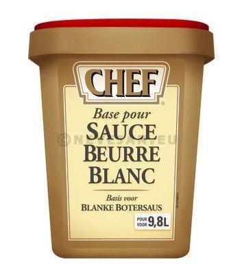 Chef sauce beurre blanc 1020gr Nestlé Professional