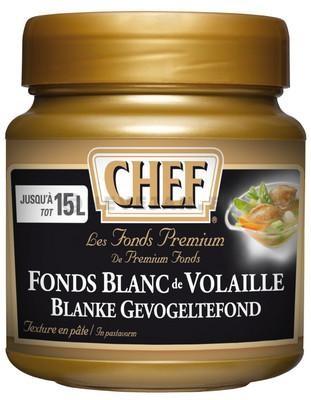 Chef Premium fonds blanc de volaille en pâte 630gr Nestlé Professional