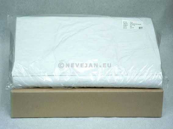 Nappes Damassees Blanches Papier 70x70cm 500pc