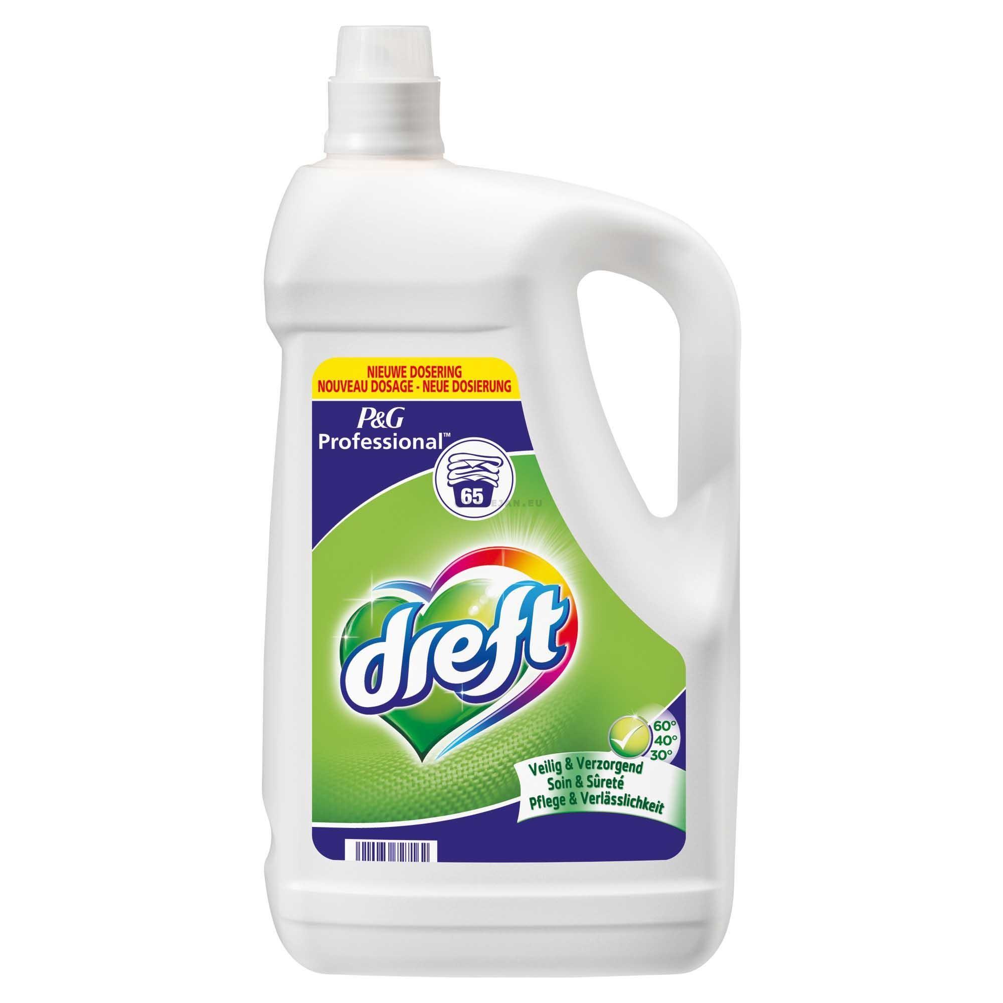 Dreft lessive delicat liquide 5L Professionel