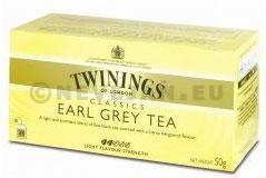 Thé Twinings Earl Grey 25pc