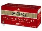 Twinings thé English Breakfast 25pc