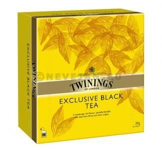 Thé noir Twinings exclusive black 100pc