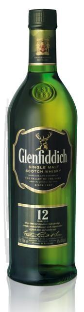 Glenfiddich 12 Ans d'Age 70cl 43% Speyside Single Malt Whisky Ecosse