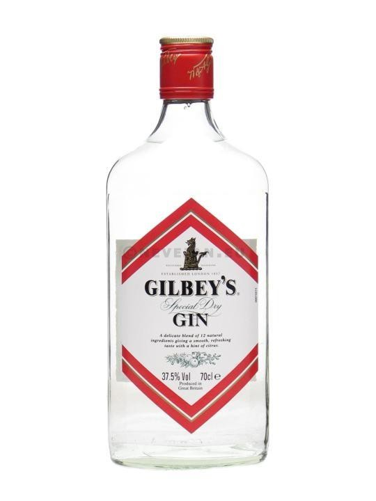 Gin Gilbey's 70cl 37.5% Special Dry