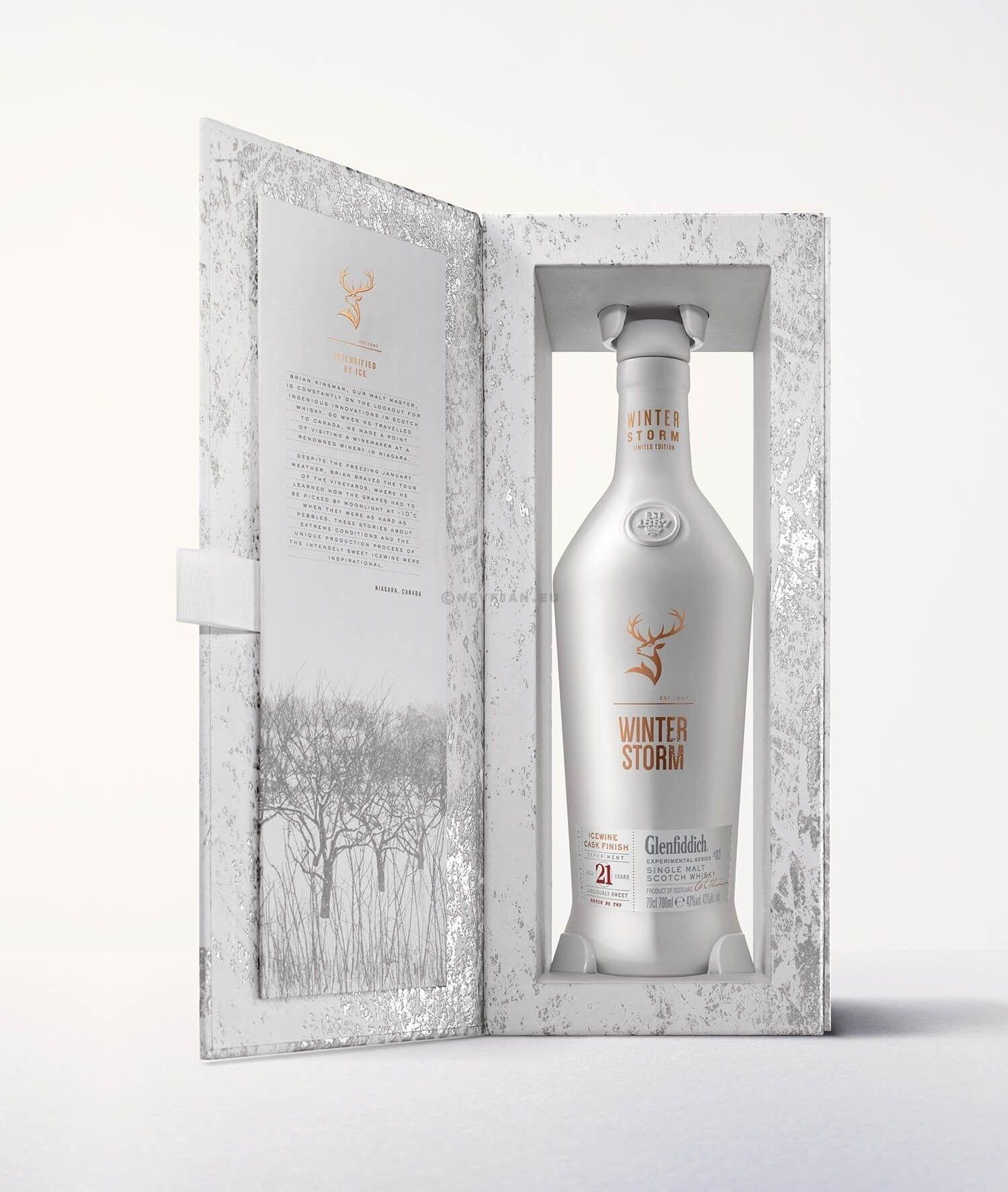 Glenfiddich Winter Storm 21 Ans d'Age 70cl 43% Speyside Single Malt Whisky Ecosse