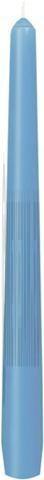 Bougies gotique bleu claire 24.5cm 6.5h 50pc Duni