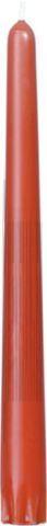 Bougies gotique terracotta 24.5cm 6.5h 50pc Duni