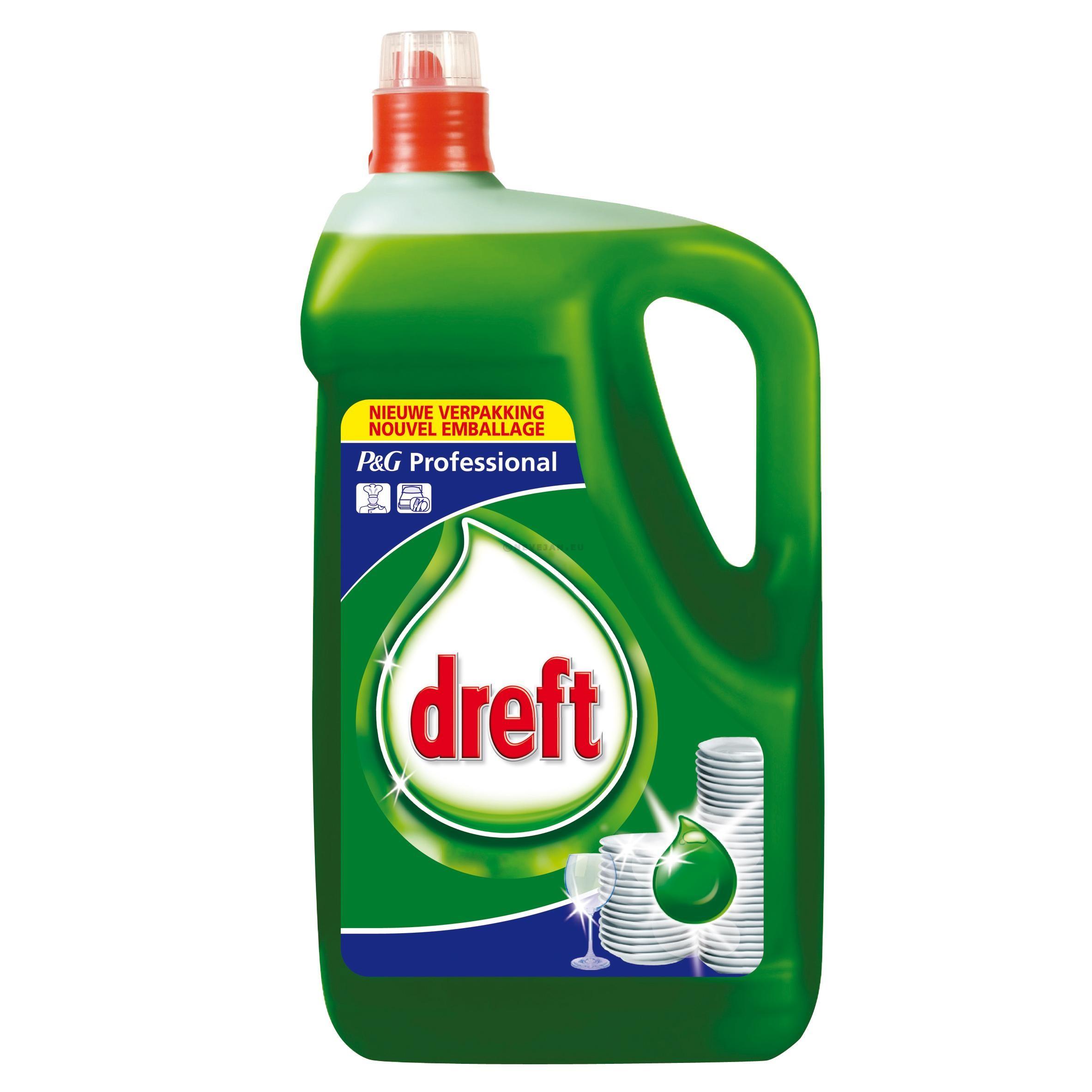 Dreft detergent vaisselle manuelle 5L P&G Professional