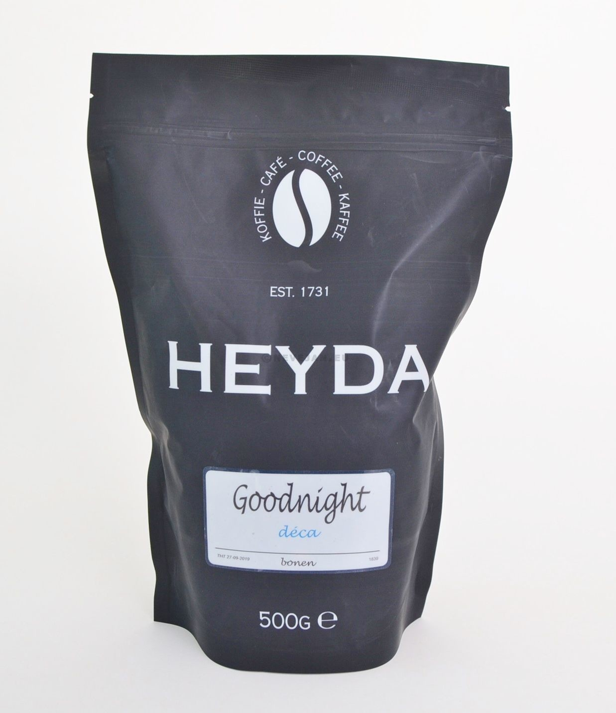 Goodnight Koffie Decafeiné 1kg bonen