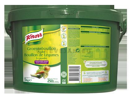 Knorr bouillon de légumes 4.5kg seau